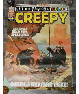 Creepy #95 Monster Magazine Poster 1977 - £17.64 GBP