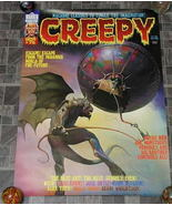 Creepy #75 Monster Magazine Poster 1976 - £17.64 GBP