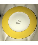 """Kate Spade Rutherford Circle Yellow Dinner Plates 11.2 """" Set 6 ~NEW ~ - $139.99"""