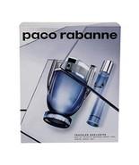 paco rabanne invictus 2 pc travel set edt 3.4 oz - $68.21