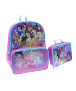 Disney's Princesses Backpack with Lunch Box *Dream Big*,16 inches New with Tags - $19.79