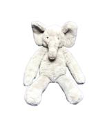 Pottery Barn Kids PBK Elephant Plush Gray Blanket Holder Stuffed Animal ... - $23.26