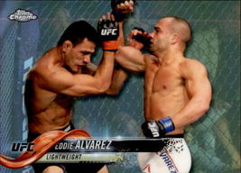 Eddie Alvarez 2018 Topps Chrome UFC Refractor Card #3 - $1.50