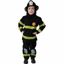 Deluxe Fire Fighter Set Fireman Child Halloween Costume Boys Size Medium 8-10 - $25.13