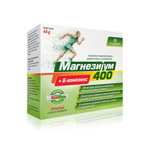 MAGNESIUM 400 + B COMPLEX - FOR NORMAL OF THE FUNCTION NERVOUS SYSTEM - ... - $24.00