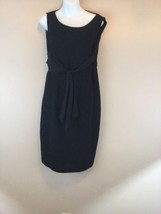 NEW Womens Vintage Talbots Sleeveless Black Dress Lined 14 large - $20.22