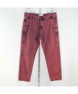 Women's Current/Elliott Pink Cropped Confidant Crop Jeans sz 29 - $61.92