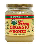 Y.S. Organics - Certified Organic Raw Honey - 8 oz - $12.99