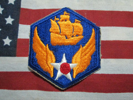Wwii Us Army 6th Army Air Corps Color Ssi Patch c/e Army Air Force - $7.00