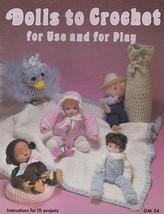 Dolls to Crochet for Use & for Play, Gaylemot Vintage Pattern Booklet GM 34 - $3.95