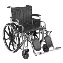 Drive Medical Sentra Wheelchair With Desk Arms and Leg Rests - $402.22
