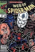 Web of Spider-man #55 October 1989 [Comic] [Jan 01, 1985] Marvel - $3.91