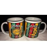 SET OF 2 Myers Rum Coffee Cup Mug 1995 Jammin Mon Original Dark Rum Meye... - $19.69
