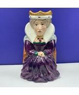 Toby mug cup Royal Staffordshire England mcm RARE vintage vtg Queen scul... - $391.05
