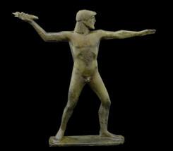 Zeus King Of the Gods Olympians Bronze Statue - $399.00
