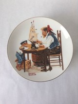 Vtg Lt'd Edition Norman Rockwell Decorative Collectible Plate - For a Go... - $14.50