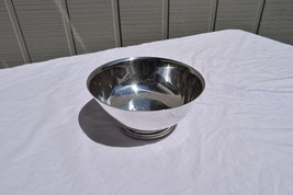 VINTAGE BAILEY BANKS & BIDDLE SILVER PLATE EP FOOTED BOWL 9 1N ESTATE SA... - $29.02