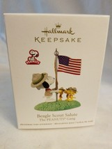 2012 Hallmark Beagle Scout Salute The Peanuts Gang - $18.76