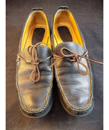 WOMEN'S LOAFERS Cole Hann Brazil Pebbled LEATHER SHOES D11732 Size 8AA B... - $26.72