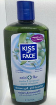 Kiss My Face Shower Gel Cold & Flu Eucalyptus & Menthol 16 oz - $29.99