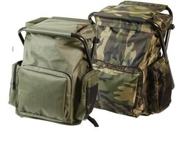 Rothco Backpack & Stool Combo Pack, Woodland - $37.99