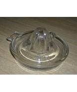 Darling Vintage FEDERAL GLASS JUICER CITRUS Reamer with Handle! - $14.00