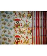 FAB Graphic Vintage Gift Wrap WRAPPING PAPER SHEETS!! - $14.00