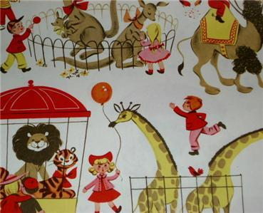 FAB Graphic Vintage Gift Wrap WRAPPING PAPER SHEETS!!