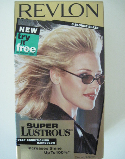 Revlon Super Lustrous Shine Enhancing Haircolor 8 Blonde Blaze