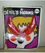 Vintage NEW OLD STOCK BAYSHORE Costume DEVIL HORNS PKG! - $14.99