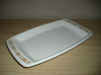 AWESOME Vintage BUFFALO CHINA ATOMIC Starburst PLATTER!