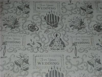 Swell Vintage Graphic Gift Wrap WRAPPING PAPER SHEETS!!