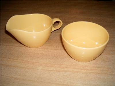 Primary image for Lovely Vintage WINDSOR & ROYALON Yellow MELMAC Cream & Sugar