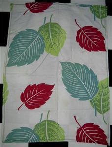 Primary image for FAB Vintage BARKCLOTH ~ TROPICAL Theme KITCHEN Towel!!