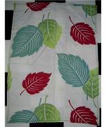 FAB Vintage BARKCLOTH ~ TROPICAL Theme KITCHEN Towel!! - $12.99