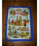 FUN NEW/OLD STOCK LONDON Graphic Kitchen/Bar TOWEL WoW! - $12.99