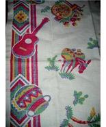 FAB Vintage MEXICANA Theme & GRAPHIC KITCHEN Towel!! - $12.99