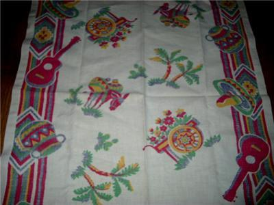 FAB Vintage MEXICANA Theme & GRAPHIC KITCHEN Towel!!
