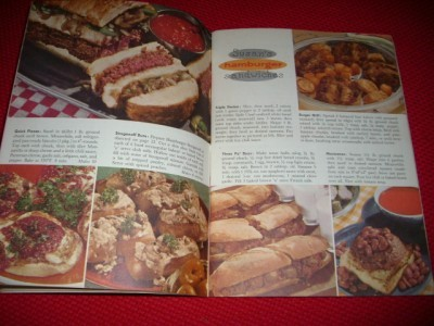 Retro 1958 GOOD HOUSEKEEPING COOKBOOKS ~ Fab GRAPHICS!!