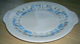 ATOMIC 50's Royal China BLUE Heaven TAB Platter - $24.99