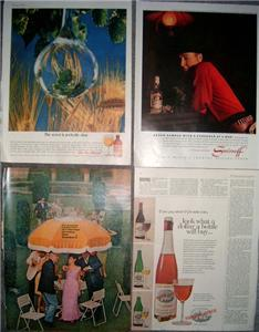 Fantastic 50's/60's LIQUOR & BEER ADVERTISING ADS!!