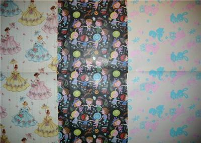 Swell Graphic Vintage Gift Wrap WRAPPING PAPER SHEETS!!