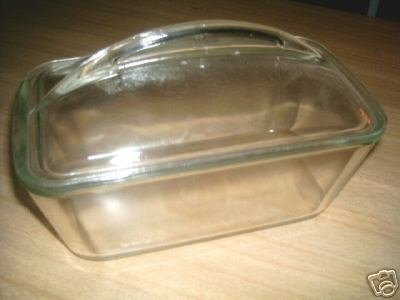 Lovely 50's WESTINGHOUSE Glass Refrigerator Dish w/ LID