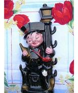 Fabulous Vintage DRUNK on a LAMP POST Ceramic DECANTER ~ JAPAN!! - $16.00
