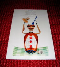 Darling 1958 ABBOTT DAYALETS Anthropomorphic ART Print Nippin' Norman - $20.00