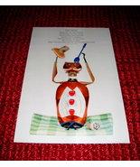 Darling 1958 ABBOTT DAYALETS Anthropomorphic ART Print Nippin' Norman - $20.00
