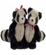 """Boyds Bears """"RICKY AND LUCY BANDITO"""" 3.5"""" PLUSH RACOONS- #568010- NOAHS-... - $19.99"""