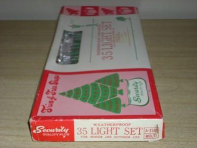 Retro TRIM-A-TREE Shop DOUBLE BLINKER LIGHT SET w/BOX!!