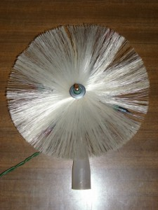 FANTASTIC Vintage PIN WHEEL Color Light Up TREE TOPPER!