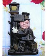 Fun Vintage DRUNK on a LAMP POST Ceramic DECANTER ~ JAPAN!! - $16.00